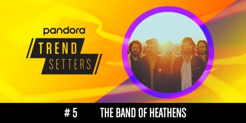 The Band of Heathens March 26